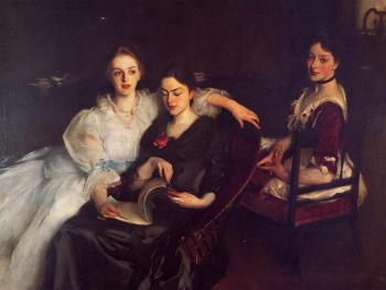 John Singer Sargent : The Misses Vickers