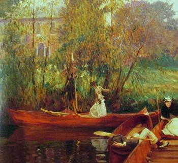 John Singer Sargent : A Boating Party