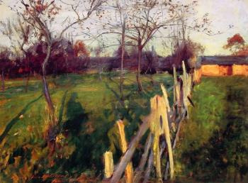 John Singer Sargent : Home Fields