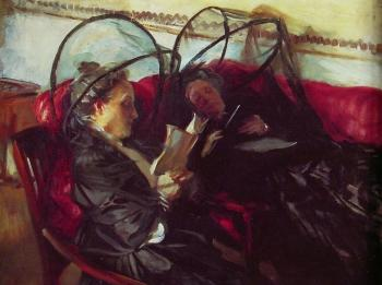 John Singer Sargent : Mosquito Nets