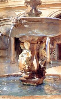 John Singer Sargent : Spanish Fountain
