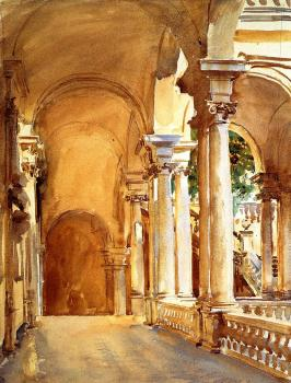 John Singer Sargent : Genoa, the University