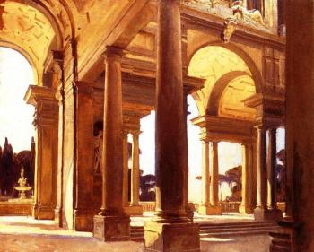 John Singer Sargent : A Study of Architecture, Florence