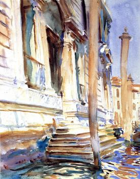 John Singer Sargent : Doorway of a Venetian Palace