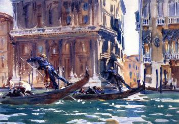 John Singer Sargent : On the Canal