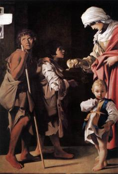 Bartolomeo Schedoni : The Charity