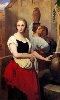 Ary Scheffer : Margaret at the Fountain