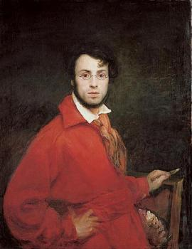 Self portrait of Ary Scheffer