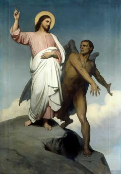 Ary Scheffer : Temptation of Christ