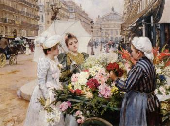 The Flower Seller III