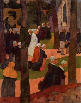 Paul Serusier : A Breton Sunday