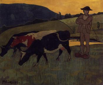 Paul Serusier : Peasant with Three Crows