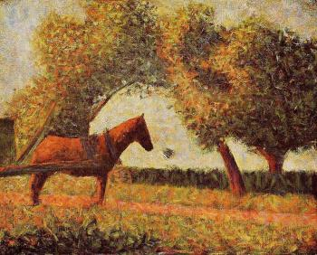 Georges Seurat : Horse