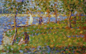 La Grande Jatte, Sailboat