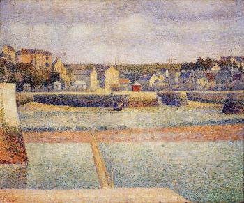 Port-en-Bessin, The Outer Harbor, Low Tide