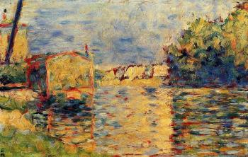 Georges Seurat : River's Edge