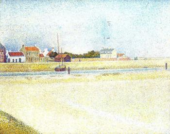 Georges Seurat : The Channel at Gravelines, Grand-Fort-Philippe