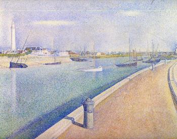 Georges Seurat : The Channel at Gravelines, Petit-Fort-Philippe