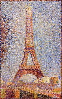 Georges Seurat : The Eiffel Tower II