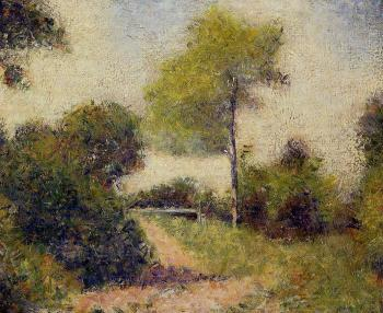 Georges Seurat : The Hedge
