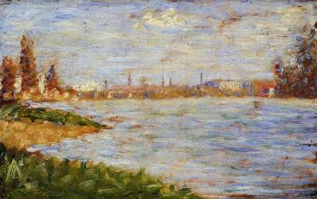 Georges Seurat : The Riverbanks
