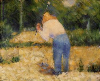 Georges Seurat : The Stone Breaker