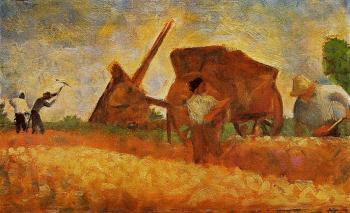 Georges Seurat : The Stone Breakers