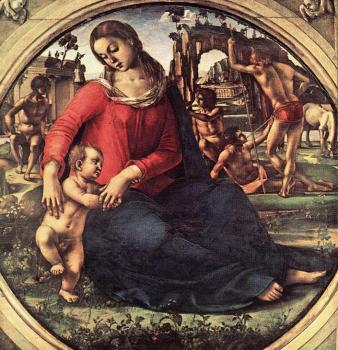 Luca Signorelli : Madonna and Child