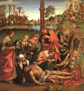 Luca Signorelli : Lamentation over the Dead Christ