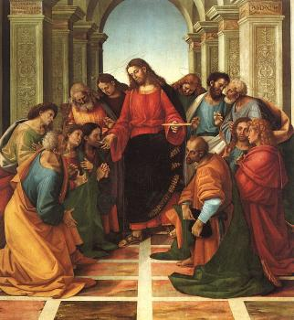 Luca Signorelli : Communion of the Apostles