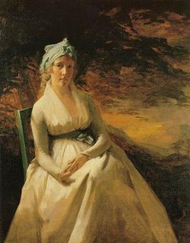 Sir Henry Raeburn : Portrait of Mrs Andrew