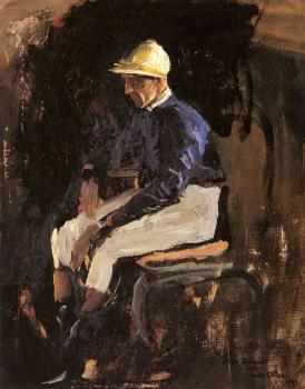 A Portrait Of Joe Childs The Rothschilds Jockey
