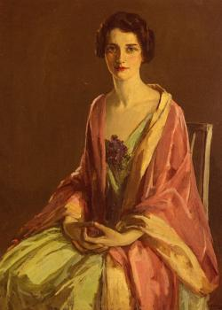 Portrait Of Miss Julia McGuire