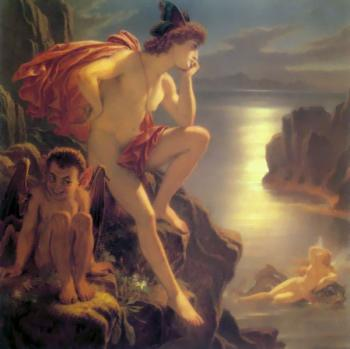 Sir Joseph Noel Paton : Oberon and the Mermaid