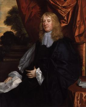 Sir Peter Lely : Abraham Cowley