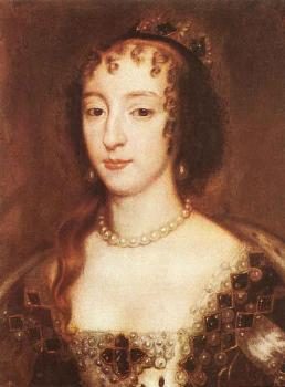 Henrietta Maria Of France Queen Of England