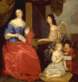 Louise de La Valliere and her children