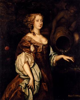 Portrait Of Diana Countess Of Ailesbury