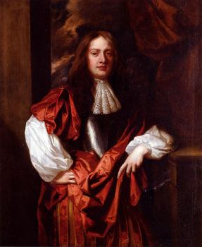 Portrait Of The Hon Charles Bertie Of Uffington