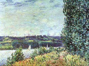 The Banks of the Seine: Wind Blowing