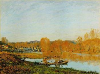 Autumn, Banks of the Seine near Bougival
