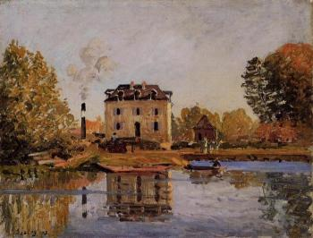 Factory in the Flood, Bougival