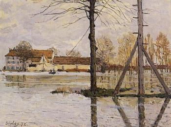 Ferry to the Ile-de-la-Loge, Flood