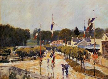 Fourteenth of July at Marly-le-Roi