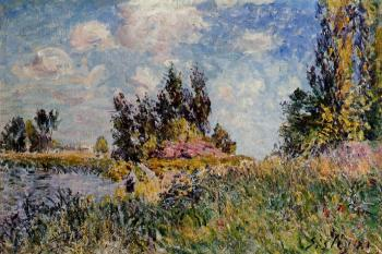 Landscape, The Banks of the Loing at Saint-Mammes