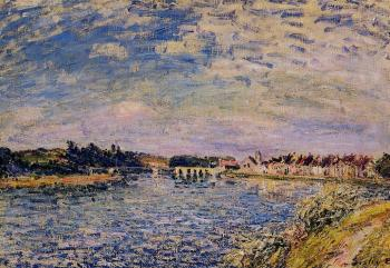 Alfred Sisley : Saint-Mammes, Evening