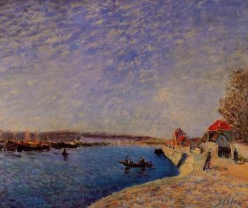 Alfred Sisley : Saint-Mammes and the Banks of the Loing