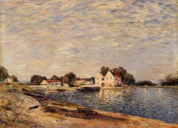 Alfred Sisley : Saint-Mammes and the Banks of the Loing II