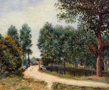 The Path from Saint-Mammes, Morning