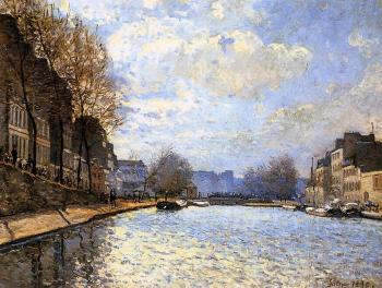 View of the Canal St Martin